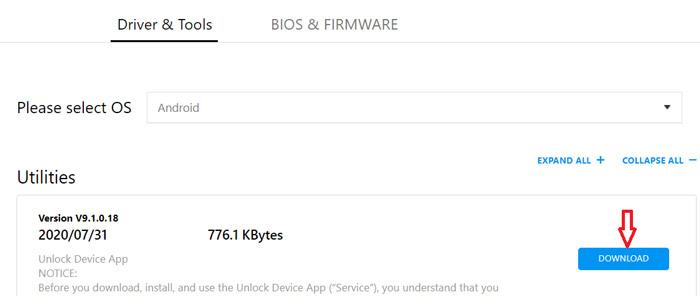 Asus ZenFone 7 Pro Unlock Bootloader
