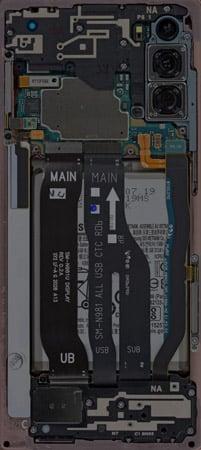 Galaxy Note 20 Teardown Wallpaper