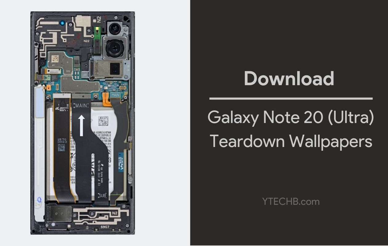 Download Samsung Galaxy Note 20 Ultra Teardown Wallpapers Qhd