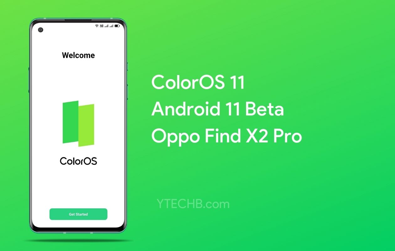 Oppo Find X2 ColorOS 11 Beta Update