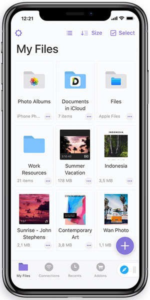 How to zip Files on iPhone