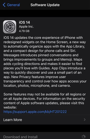 iOS 14 GM and iPadOS 14 GM