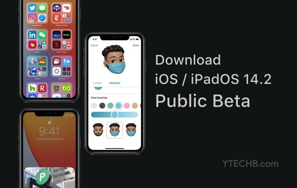 iOS 14.2 Public Beta update