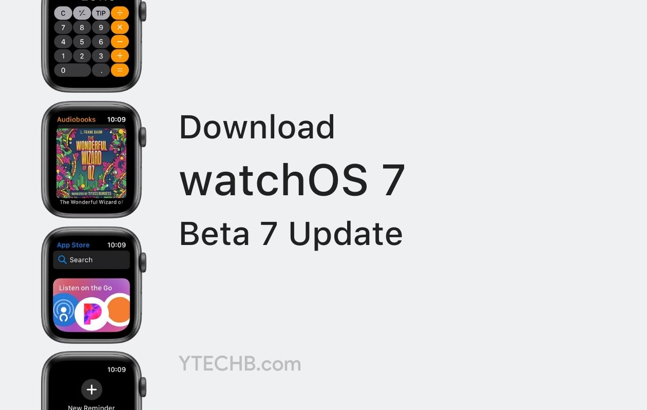 watchOS 7 Beta 7 Update