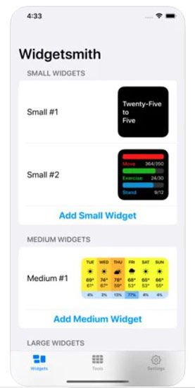 How to create custom widgets in iOS 14