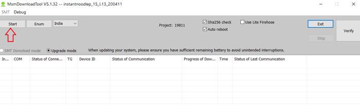 OnePlus 8T Unbrick Tool