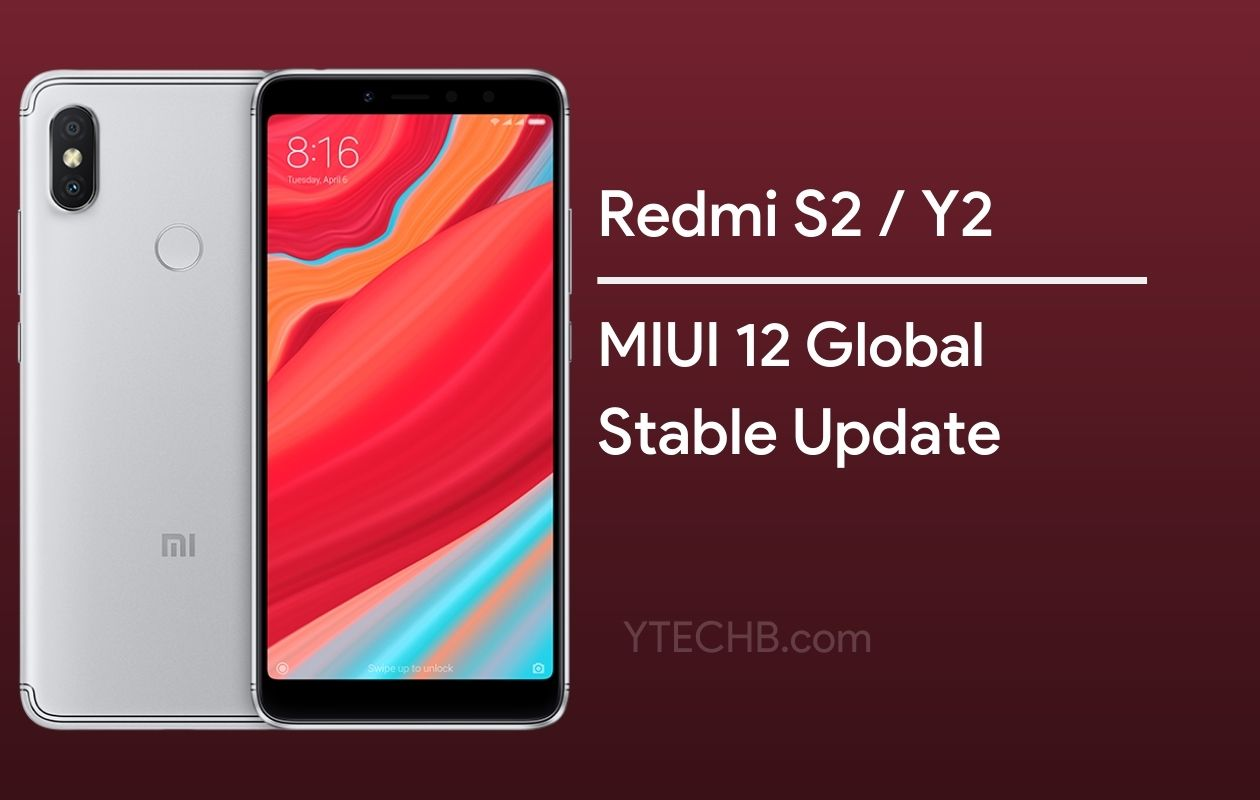 Redmi Y2 MIUI 12 Update