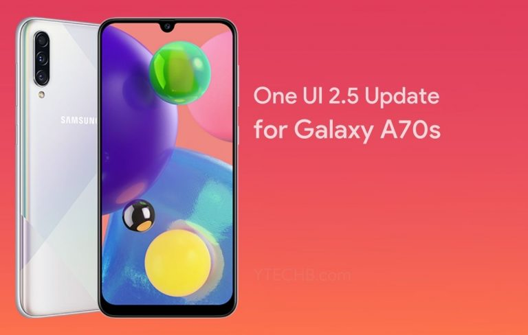 Samsung rolls out One UI 2.5 Update to the Galaxy A70s