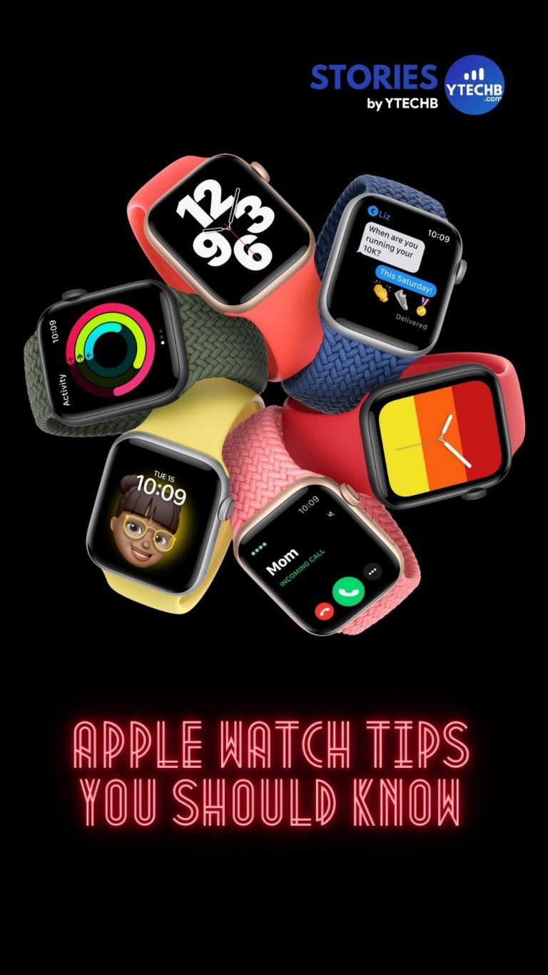 6 helpful Apple Watch tips you should know