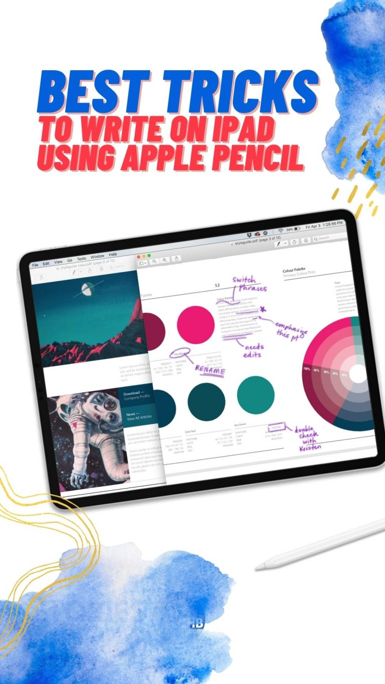 Best Tricks to Write on iPad with Apple Pencil