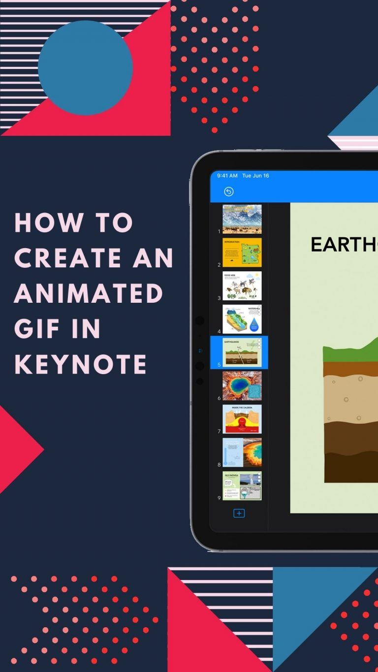 How to Create an Animated GIF in Keynote on iPhone or iPad