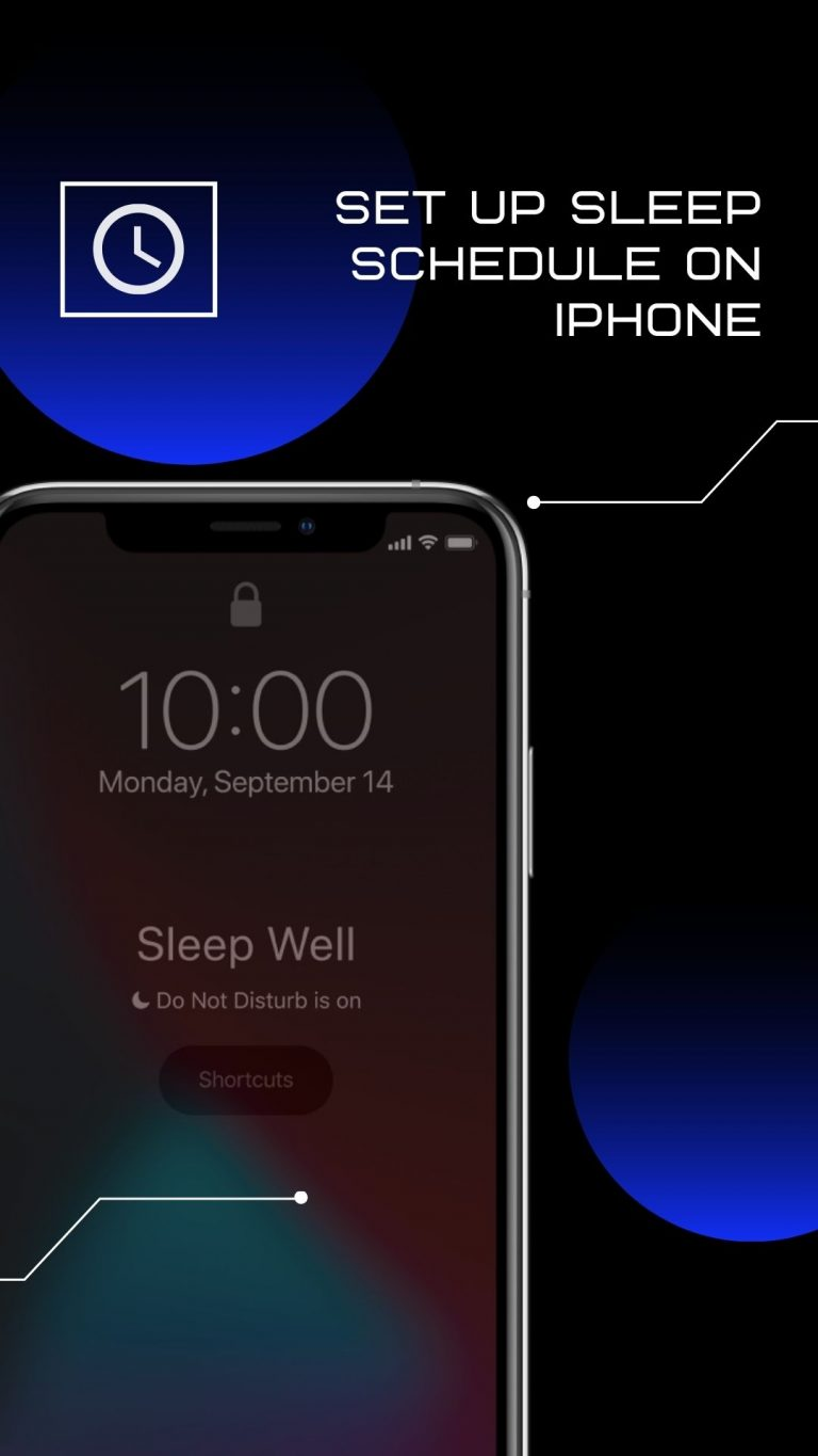 Worried about sleep routines? Use your iPhone to Schedule your Sleep