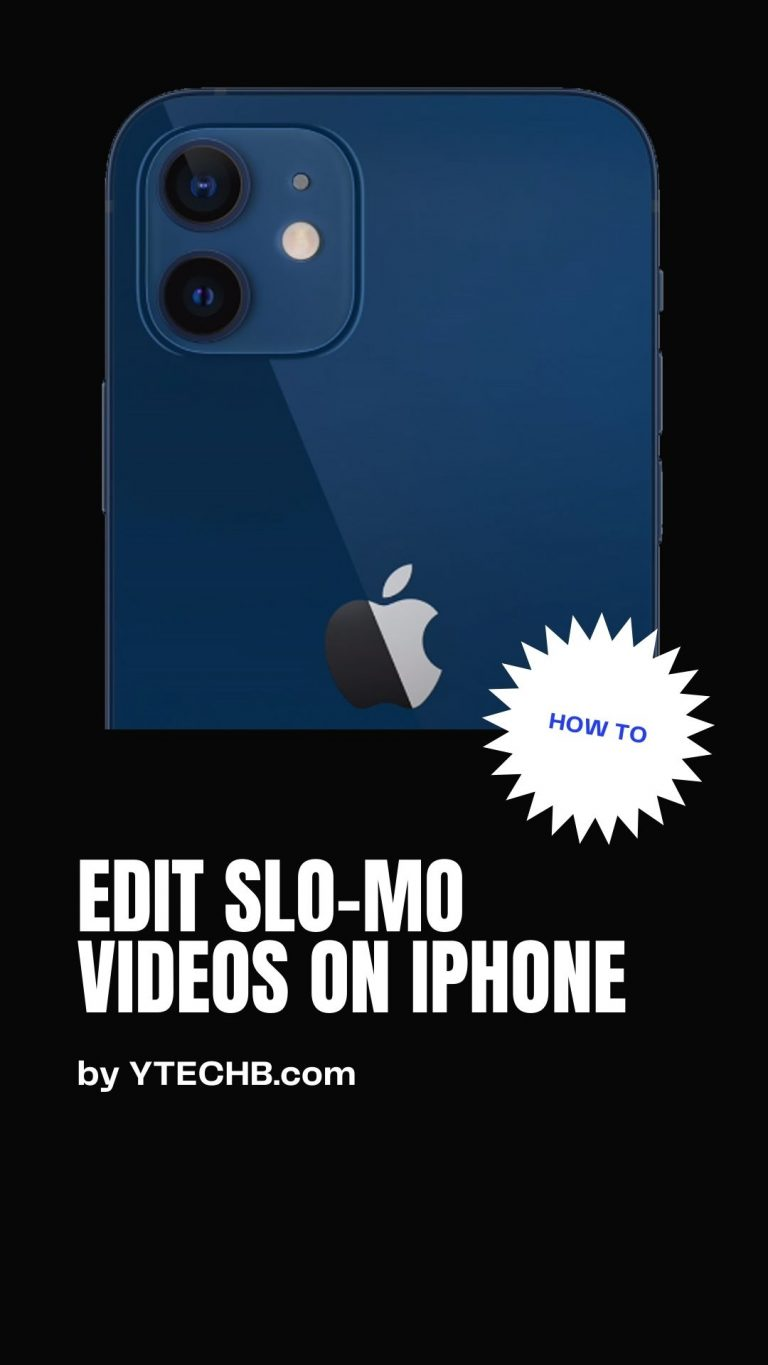 How to Edit Slo-Mo Videos on iPhone