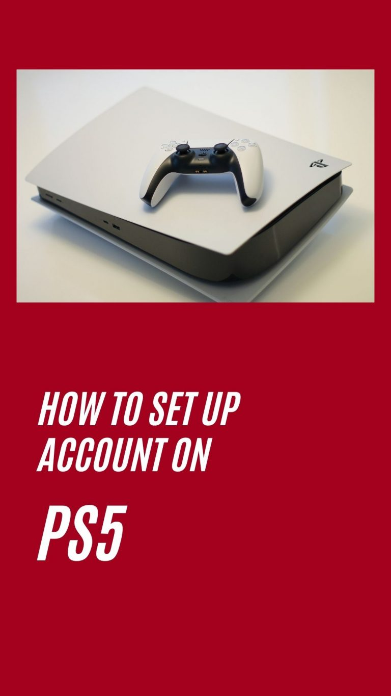 How to set up a new PlayStation 5