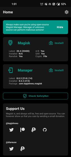 Magisk Manager 8.0.3 APK