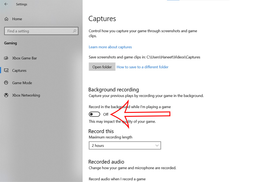 How to Disable Game DVR on Windows 10