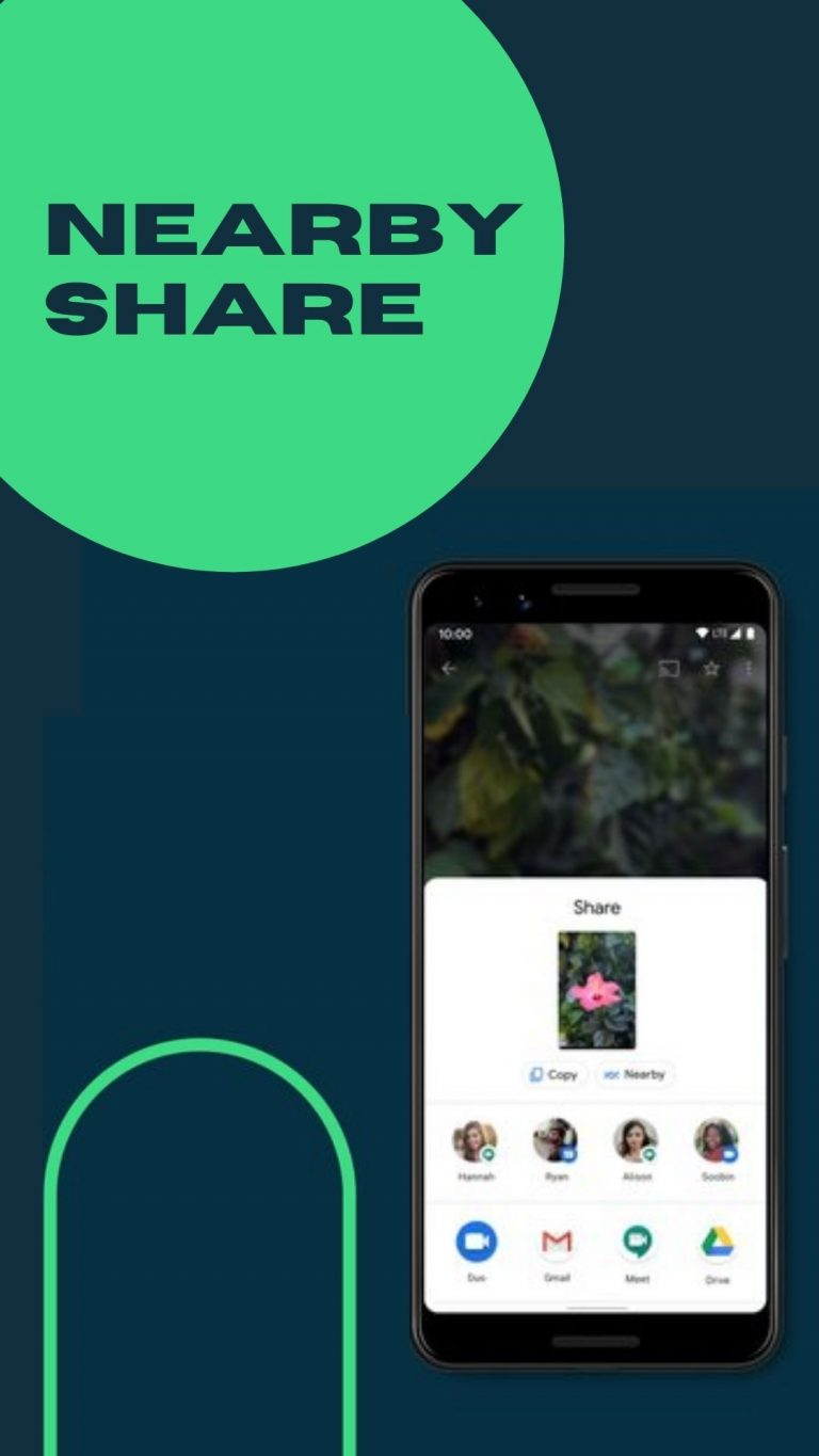 Quickly Share Files with Nearby Share on Android