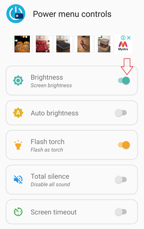 How to Add custom toggle in Power Menu