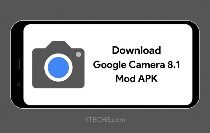 Google Camera 8.1 Mod APK