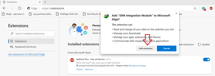 How to Add Custom Extensions on Microsoft Edge