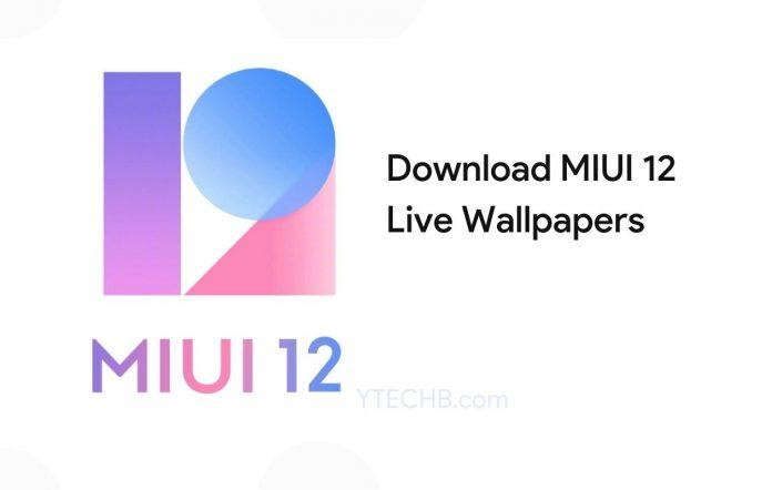MIUI 12 Live Super Wallpapers