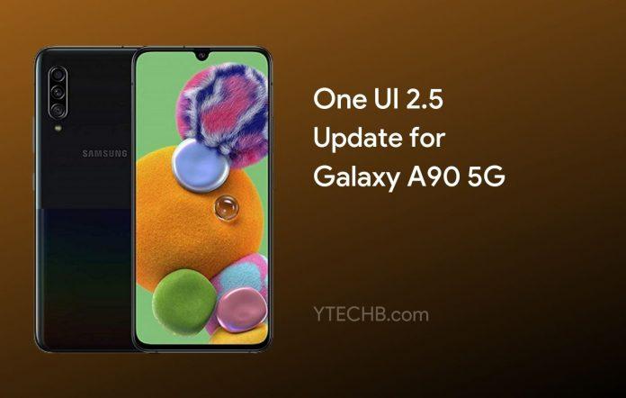 Samsung Galaxy A90 5G One UI 2.5 Update