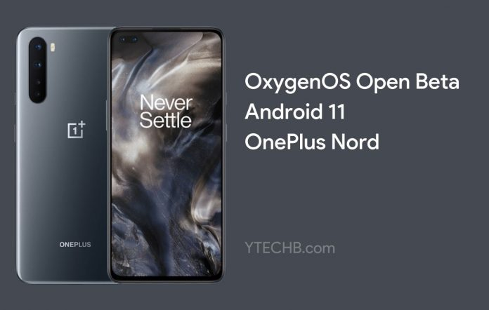 Android 11 Beta 1 for OnePlus Nord