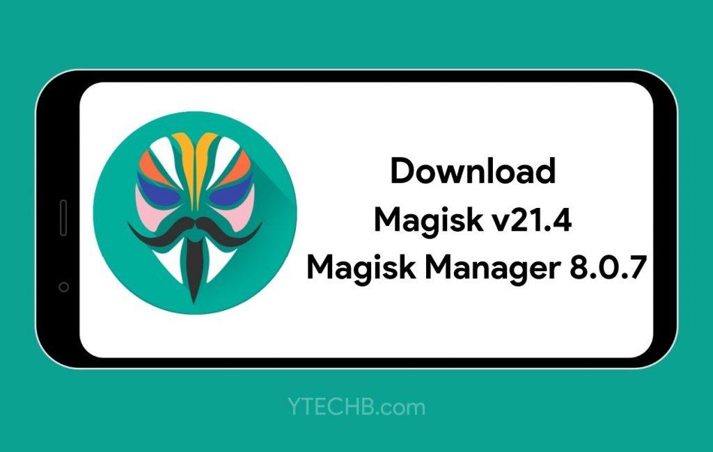 Download Magisk 21.4