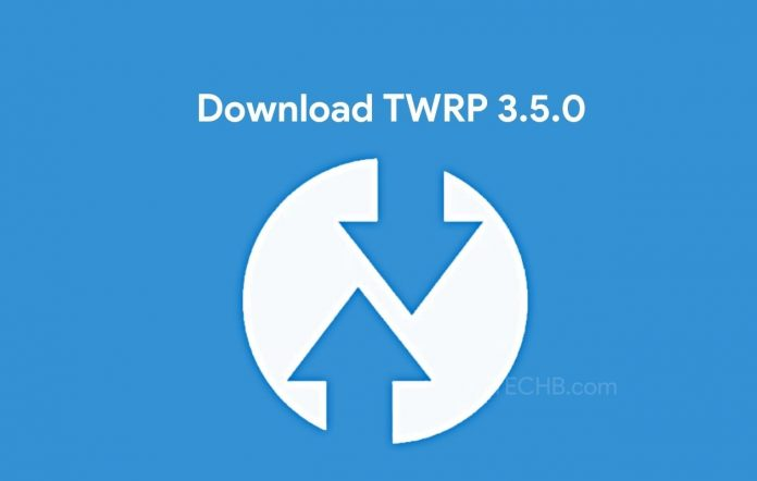 Download TWRP 3.5.0 Recovery