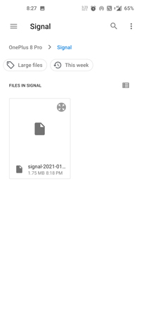 How to Restore Messages on Signal