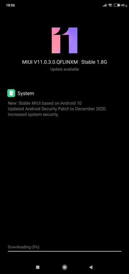 Redmi 7 Android 10 Update