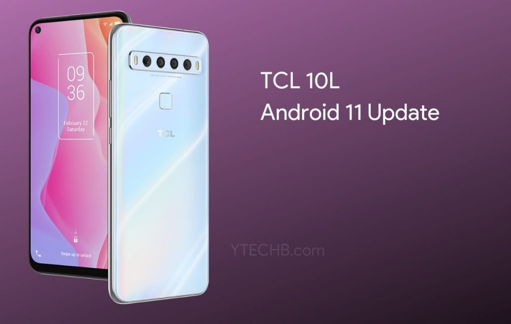 TCL 10L Android 11 Update