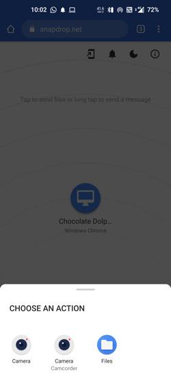 Các bước để chuyển dữ liệu từ iPhone sang Android không cần tải ứng dụng thứ ba