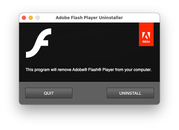 How to uninstall Adobe Flash Player from Mac