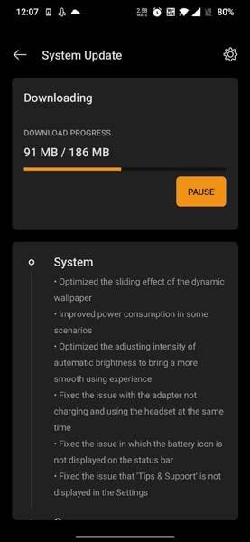 OnePlus 7 Pro OxygenOS Open Beta 2 Update