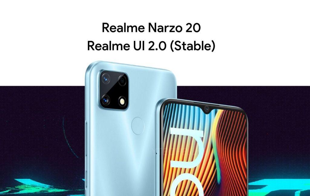 Realme UI 2.0 for Realme Narzo 20