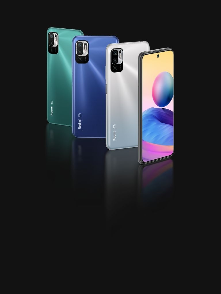Redmi Note 10 5G Wallpapers are here!