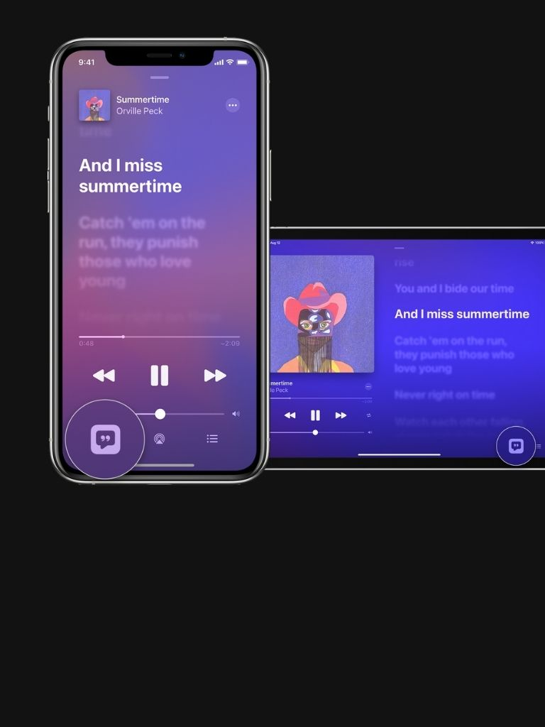 How to Share Song Lyrics in Apple Music