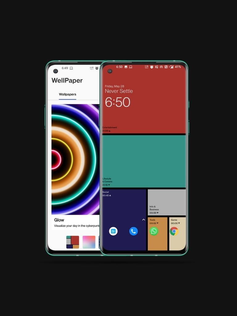 Track Smartphone Usage with Wallpapers